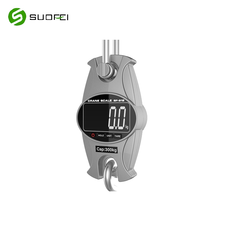 Suofei SF-918 Load Cell Aluminum Hook Hanging Electronic Portable Camry Ocs Digital Crane Weight Scale