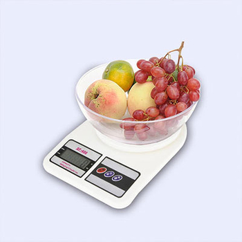 How to use the kitchen scales